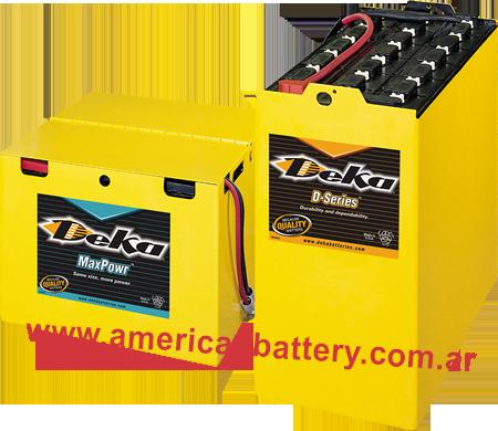 Baterias Industriales Deka