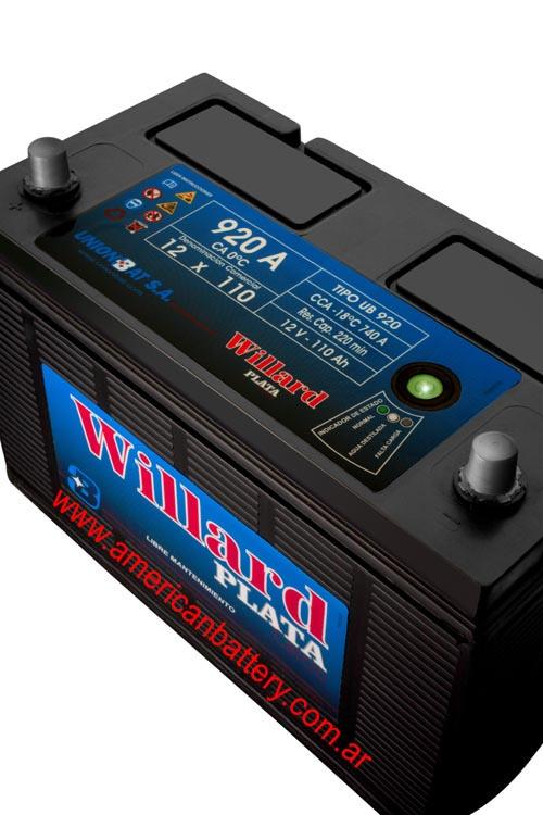Baterias Auto Willar