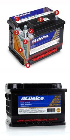 Baterias Auto Acdelco